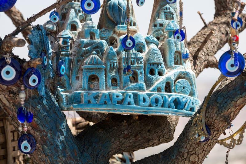 Ricordi casalinghi della casa in Cappadocia, immagine stock libera da diritti