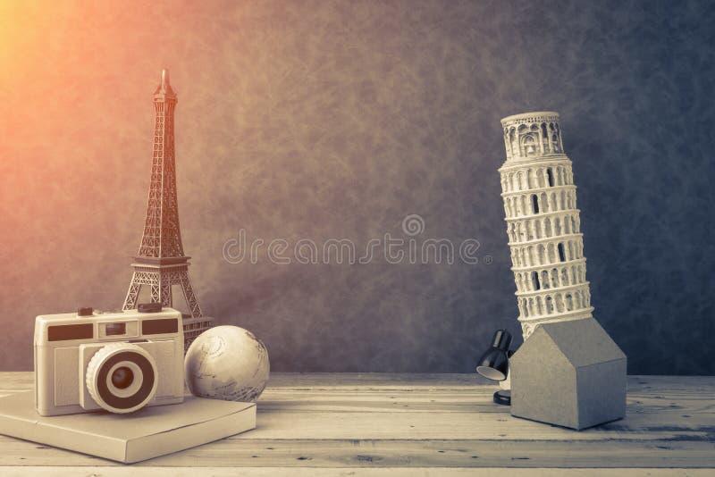 Ricordo di concetto di viaggio fotografie stock