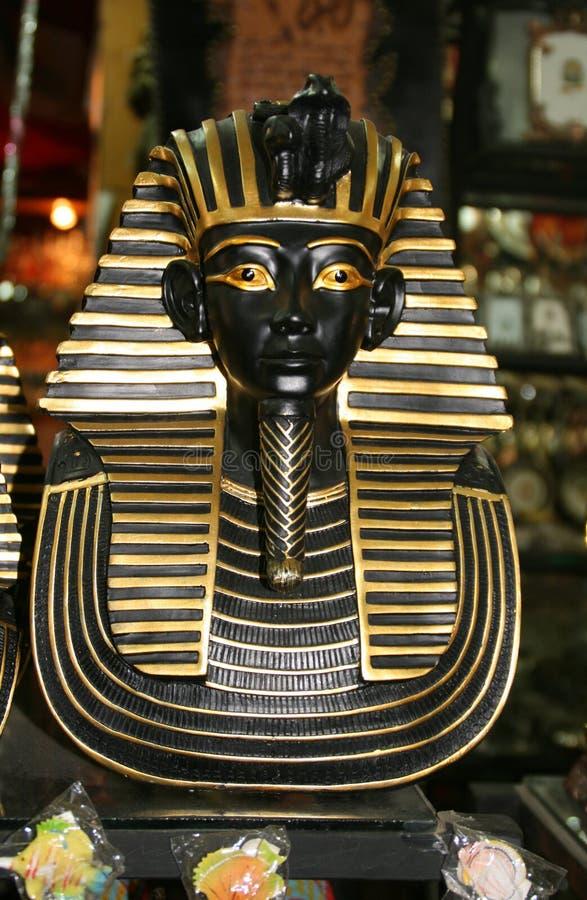 Ricordo egiziano di Tutankhamen del pharaon immagini stock libere da diritti