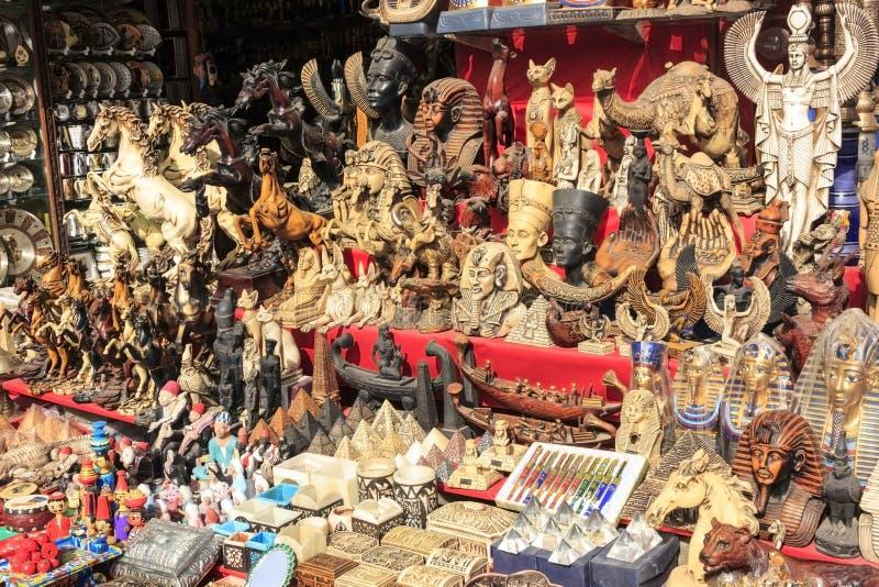 Ricordo in negozio egiziano fotografia stock