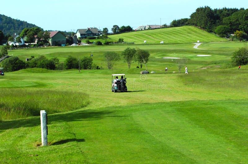 Ricorso di golf fotografia stock