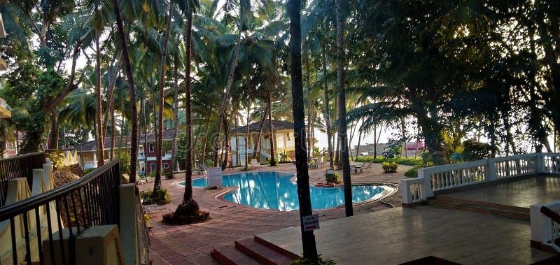 Ricorso in Goa fotografia stock