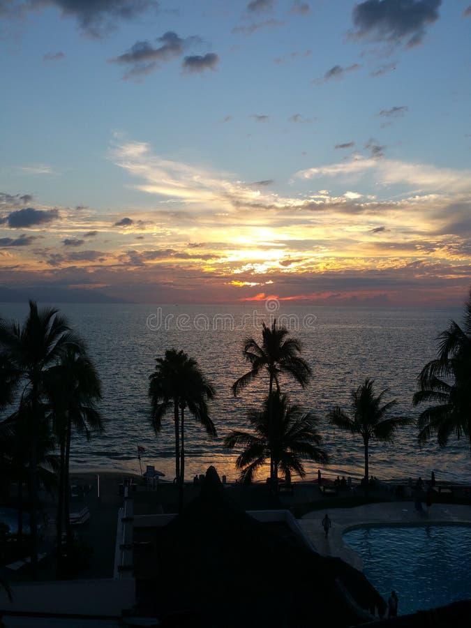 Ricorso tropicale immagini stock