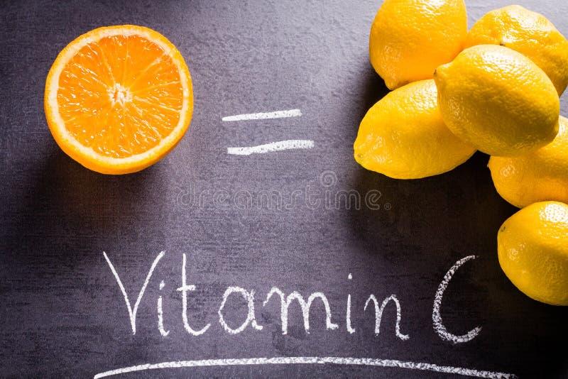 Ricos do alimento na vitamina c fotos de stock royalty free