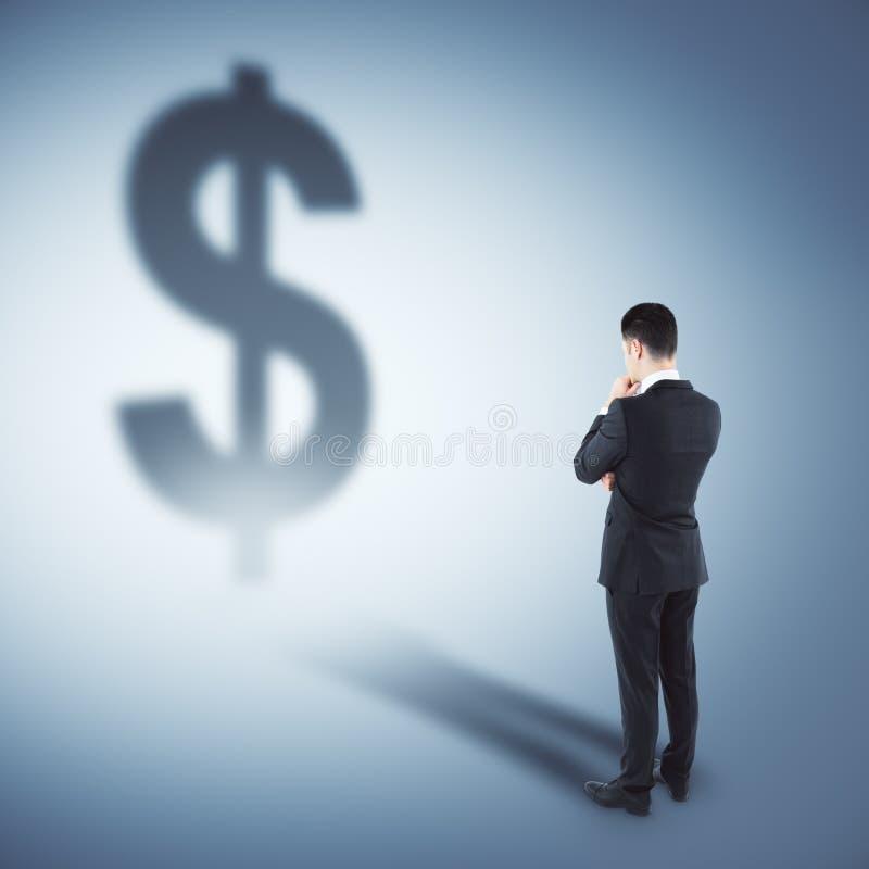 Ricos y concepto de la inversión imagen de archivo libre de regalías