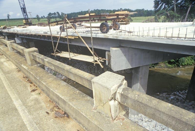 Ricostruzione le strade e dei ponti in Florida fotografia stock libera da diritti