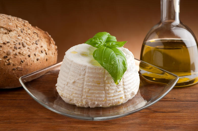 Download Ricotta on dish stock image. Image of ingredient, dairy - 13687995