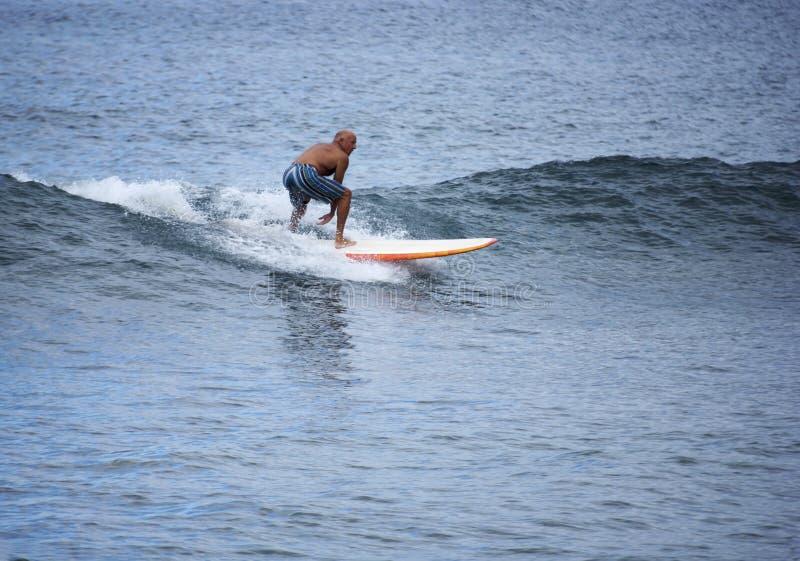 rida waves arkivfoton