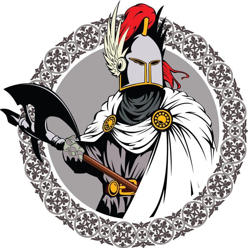 riddare royaltyfri illustrationer