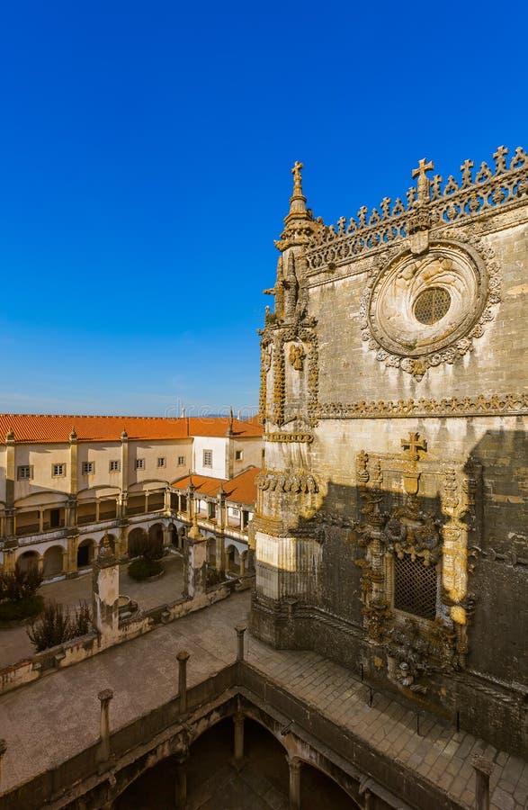 Riddare av de Templar klosterna av Kristus rockerar - Tomar Portu royaltyfri foto