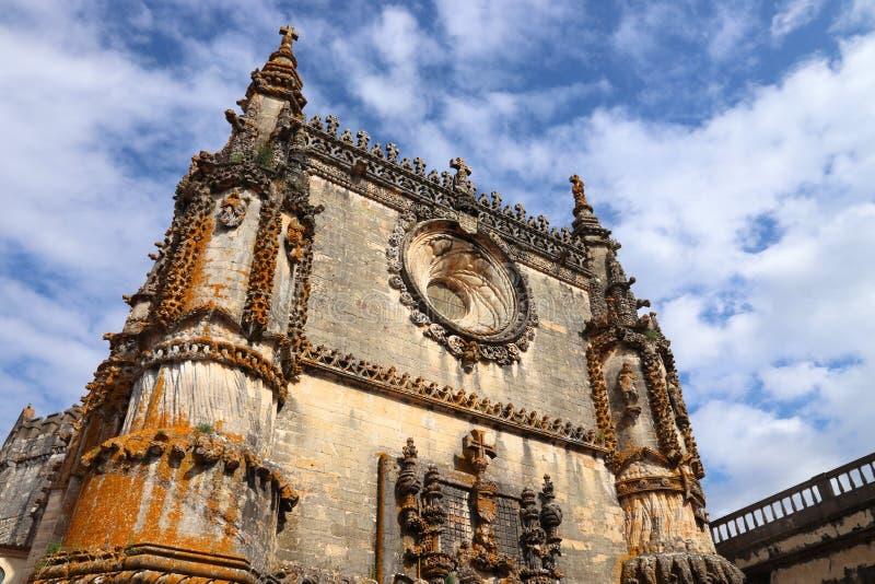 RiddareTemplar kloster royaltyfri foto