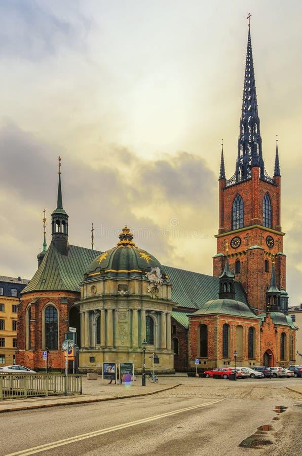 The Riddarholm Church royalty free stock photo
