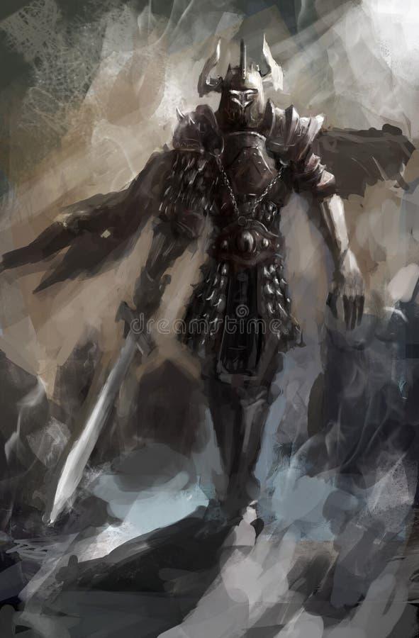 Ridder stock illustratie