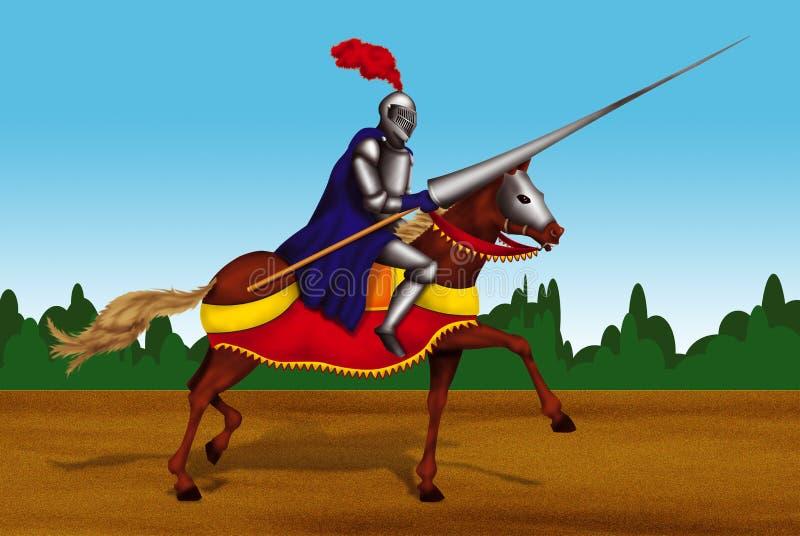 Ridder royalty-vrije stock afbeeldingen
