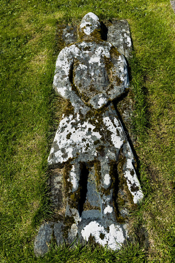 Ridder Kilmuir Graveyrad royalty-vrije stock foto's