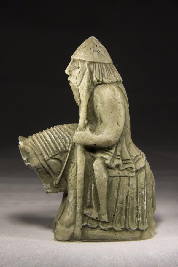 Ridder (Oud Schaakstuk) stock afbeeldingen