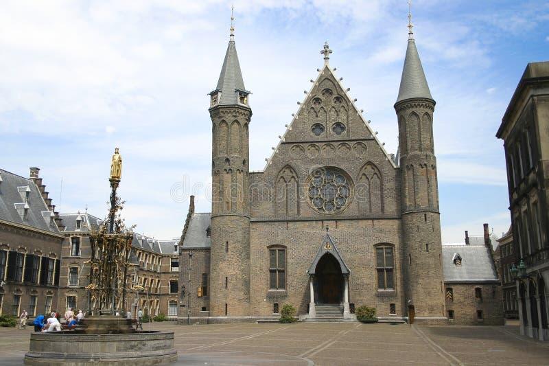 Ridderzaal, Binnenhof, Haia imagem de stock royalty free