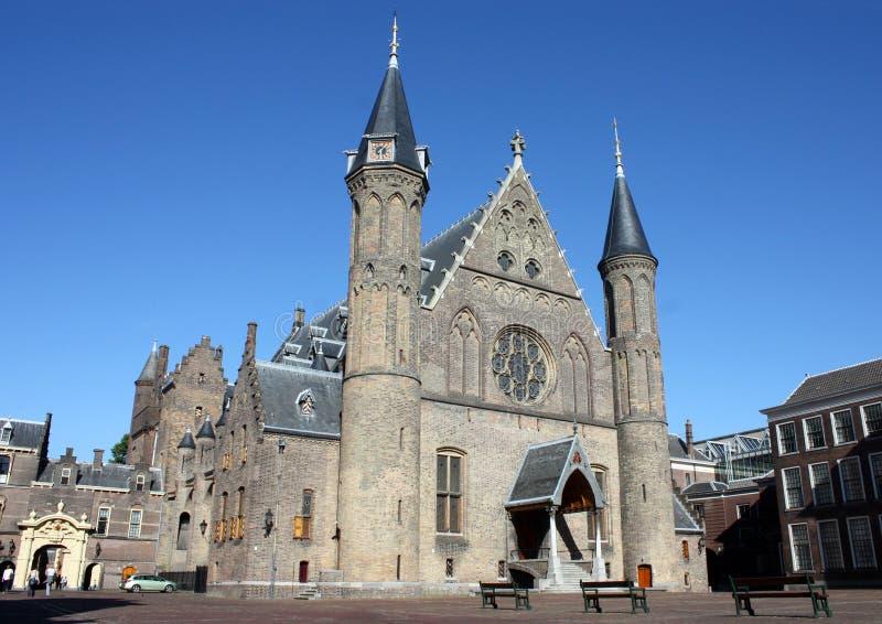 Ridderzaal, Binnenhof, melina Haag, holandie obrazy royalty free