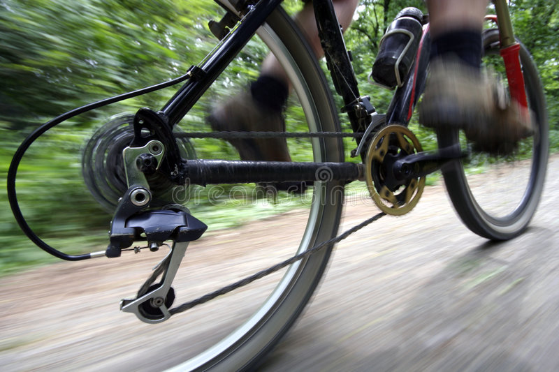 Ride bike royalty free stock images