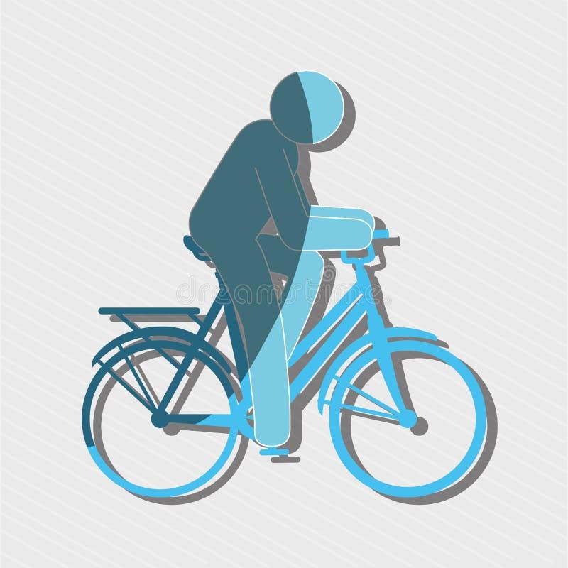 ride bike design vector illustration