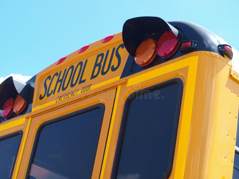 School Bus Rides Have Not Changed Over The Years stock images