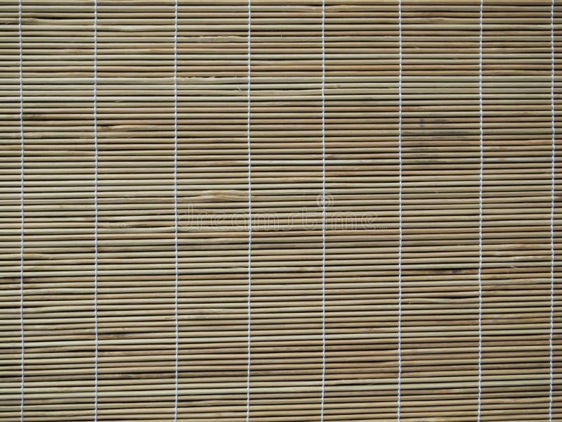 Rideau en bambou images stock
