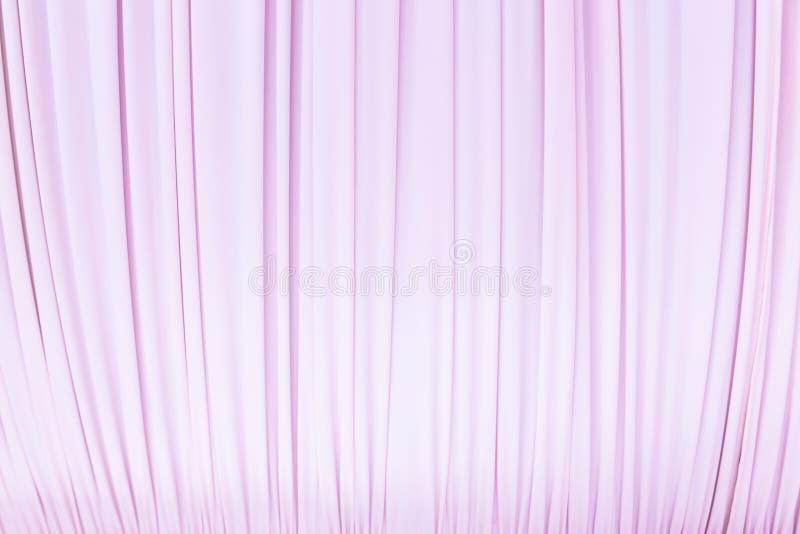 rideau en tissu dans la couleur de rose en pastel photo stock image du pr sentation v nement. Black Bedroom Furniture Sets. Home Design Ideas