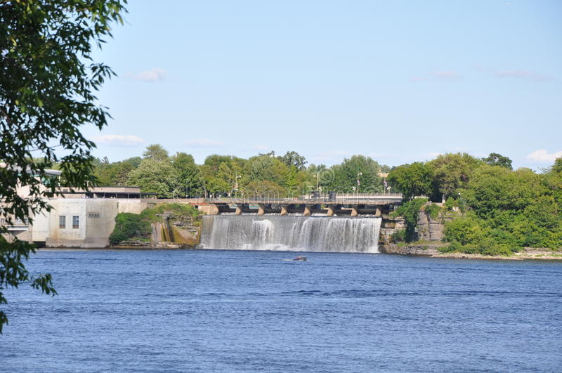 Rideau Falls In Toronto Stock Photography