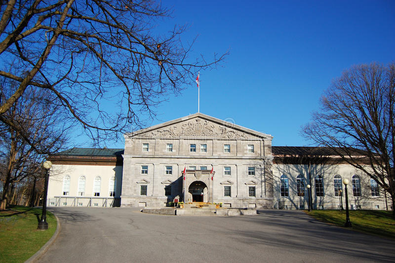 Rideau Hall à Ottawa, Canada photographie stock