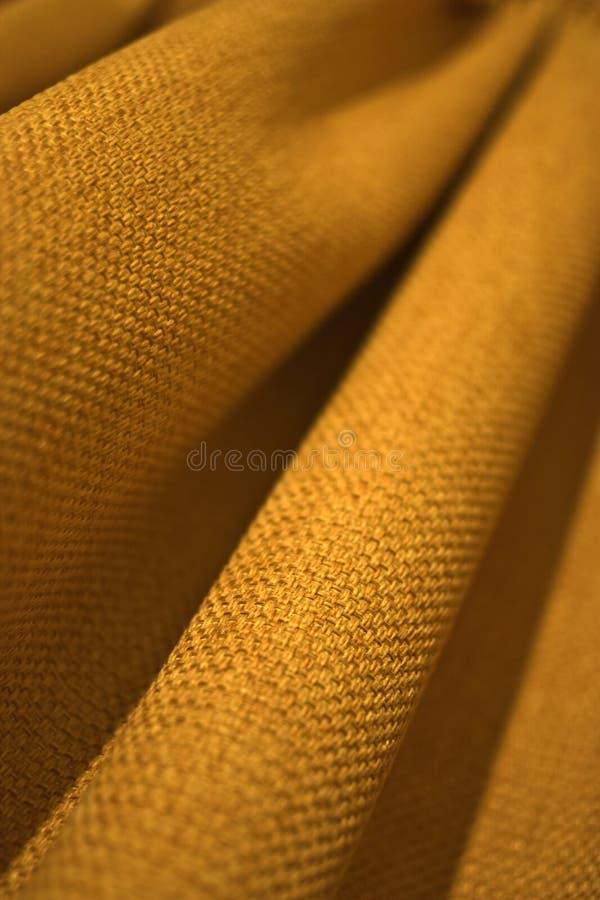 Rideau jaune photo libre de droits