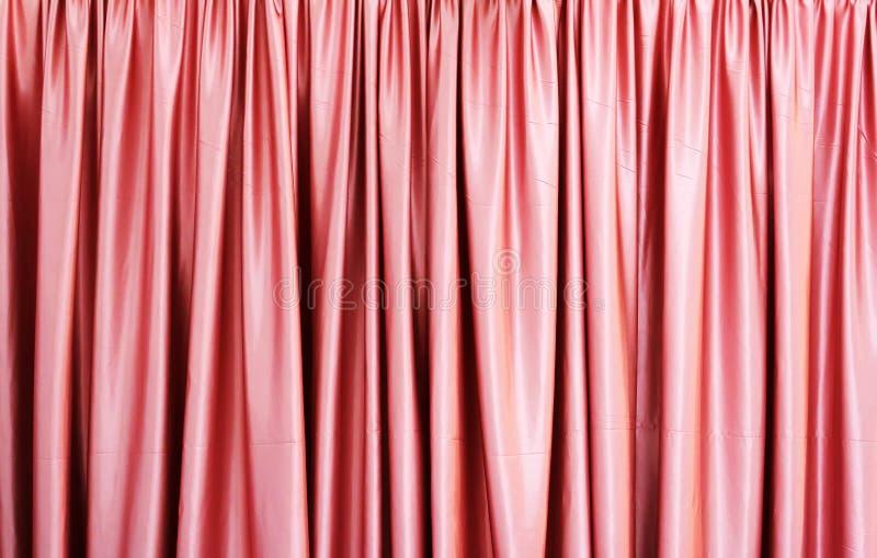 Rideau rose photo libre de droits