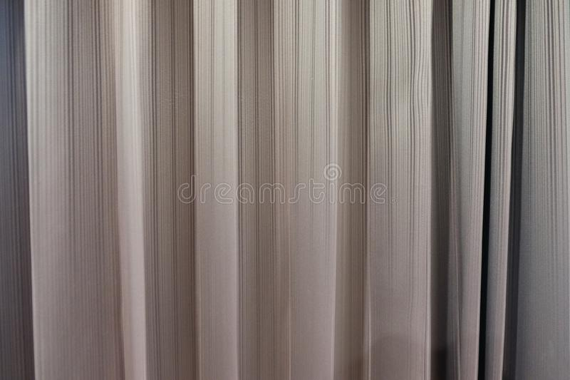 Rideaux gris photographie stock