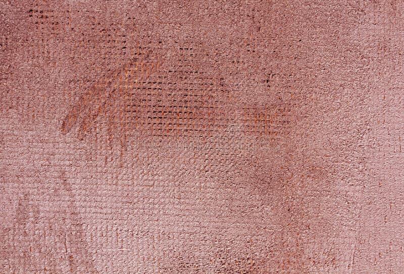 Riden ut för cementvägg för röd färg yttersida fotografering för bildbyråer