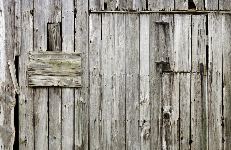 Riden ut gammal wood ladugårdbakgrund arkivfoto