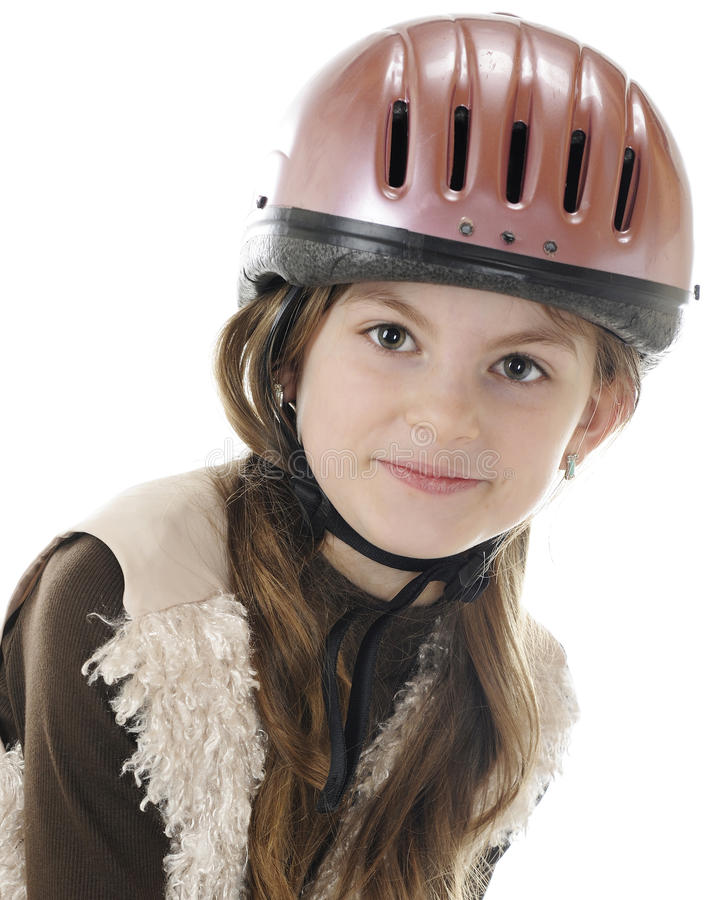 Download Rider Portrait stock image. Image of brown, attractive - 23992329