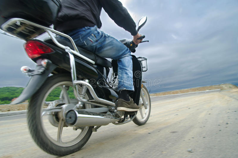 Download Rider On Scooter Riding Stock Photos - Image: 25498693
