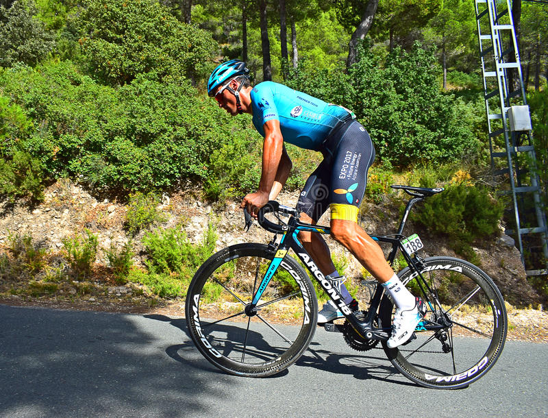 Leon Sanchez, Astana Pro Team stock photography