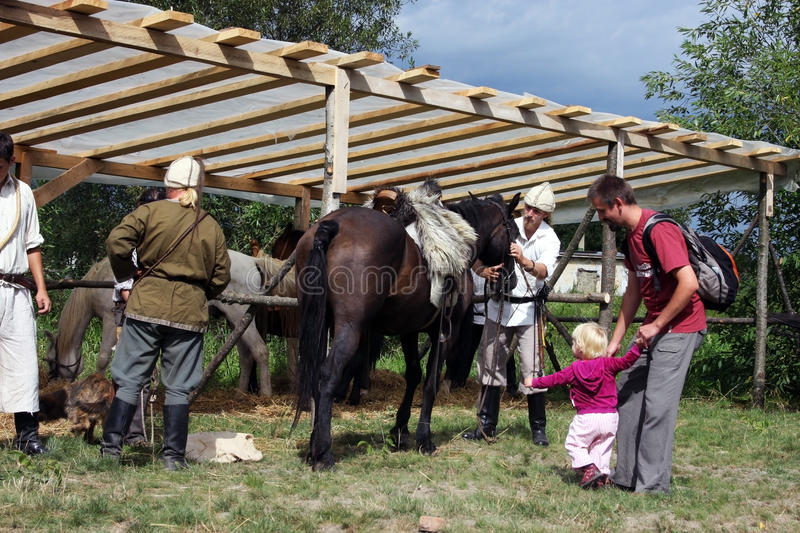 Download Riders Preparing For A Demonstration Editorial Photography - Image of antic, blue: 15846512