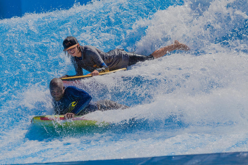 Download Riders Two Wave Pool editorial photography. Image of african - 29460087