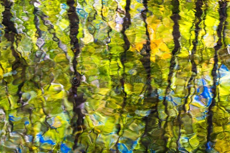 Ridge Abstract blu fotografia stock