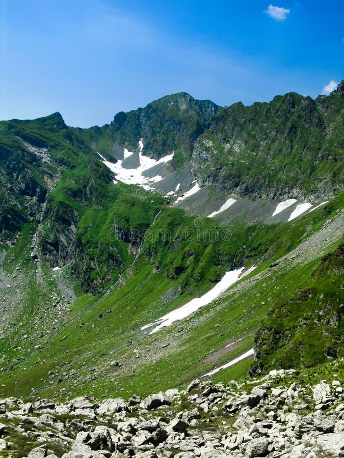 Ridge em Romania Carpathian foto de stock royalty free