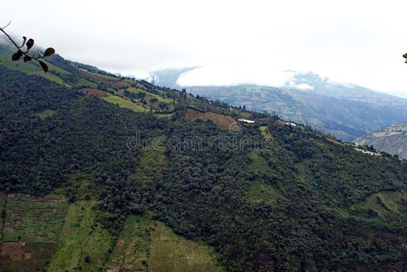 Ridge em uma montanha fotografia de stock royalty free