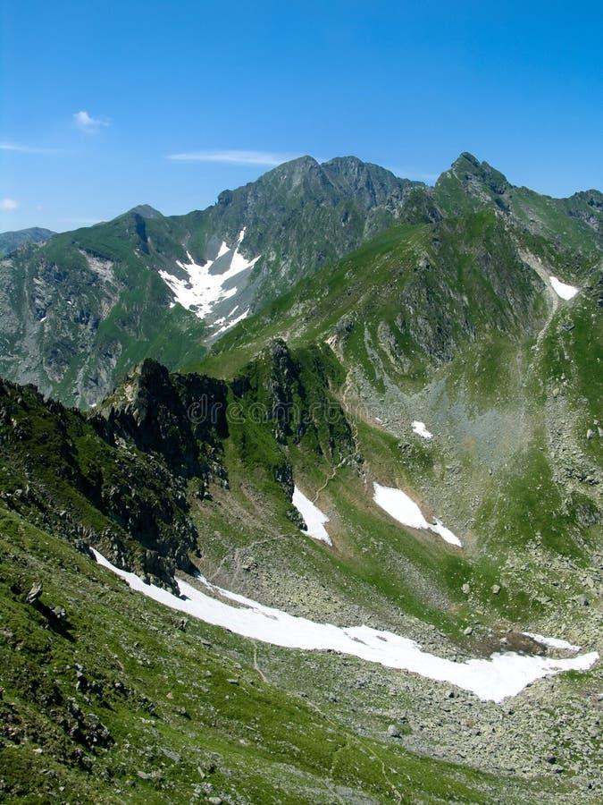 Ridge en Rumania cárpata imagen de archivo libre de regalías