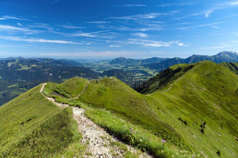 Download Ridge hike stock photo. Image of hike, fellhorngrat, summer - 20563990