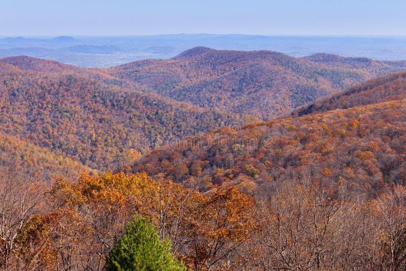 Ridge Shenandoah National Park azul VA imagens de stock royalty free
