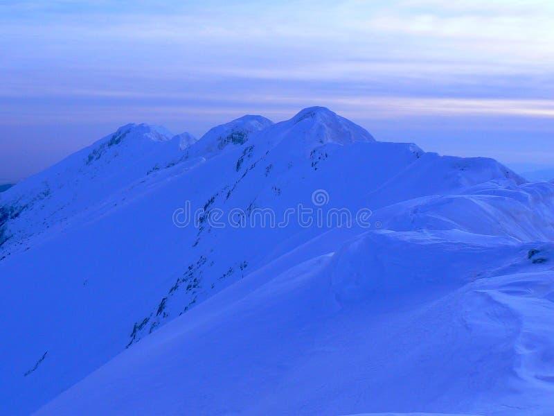 Download Ridge into sunset light stock image. Image of landscape - 10259709