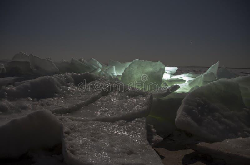 Ridged is på stranden arkivbilder