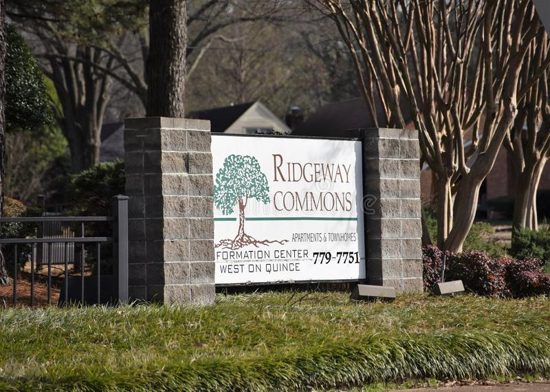 Ridgeway Commons Apartment Homes imagem de stock