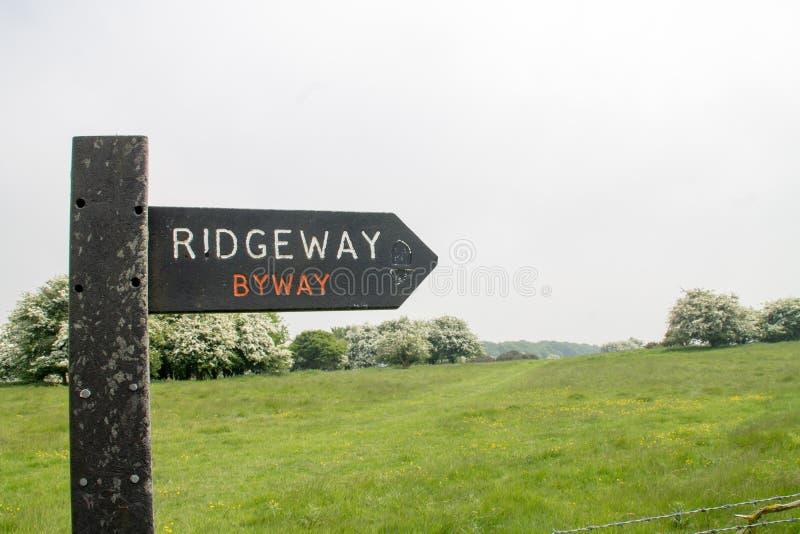 Ridgeway National Trail Reino Unido foto de stock royalty free