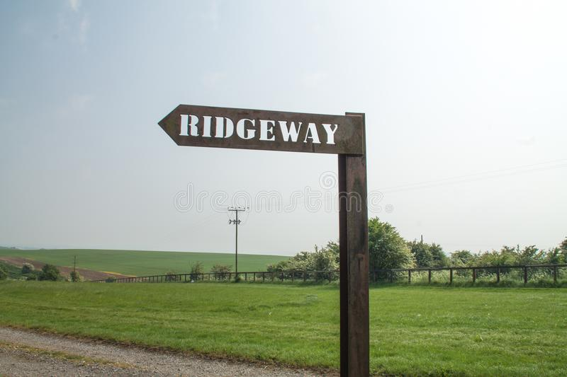 The Ridgeway National Trail UK stock photos